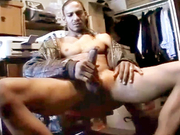 Sexy black shows how to jerk his dick off