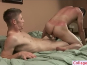 Two college students fucking after school