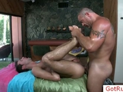 Lucky guy gets fucked by stud by gotrub