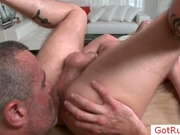 Stud getting rimmed during massage