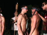 Night time college frat hazing ritual FULL