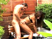 Exotic Latin SheMale sucks dick & gets fucked