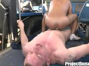 He rides the bus AND my fat cock