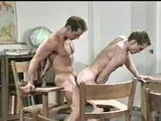 How muscle hunk vintage gay porno movie