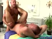Mature gay stud assfucks and rims guy