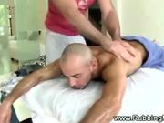 Straight guy gets his asshole inspected
