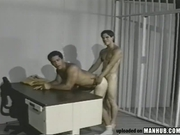 Officer has his sexual ways with his prisoner