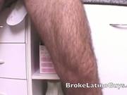 Rocco enjoys masturbating in the kitchen