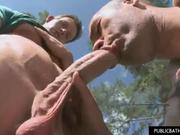 Hawt and Ripped Stud Gets Laid Outdoors