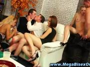 Wild and crazy bisexual super orgy HOT