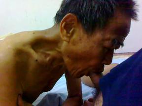 Grandpa and asian sex