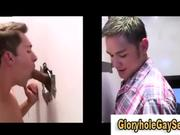 Straight guy gets tricked in gay gloryhole