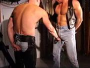CBT muscle stud orgy, the warm up.