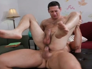 Married Hunk Takes It From blonde Stud