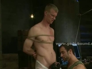 Two gay hunks one hot master
