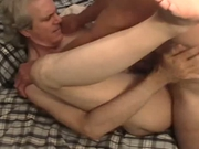 Older guy getting pounded and loving it