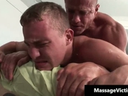 Muscular guy fucks his client's ass hard