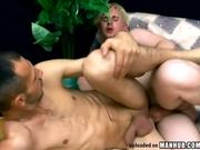 Hardcore Fucking With A Blonde