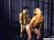 Guard falls for the prisoner and fucks