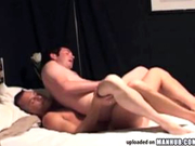 Daddy guy with sweet muscles bareback fucks