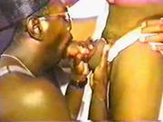 Classic black gay porn sucking a big fat dick