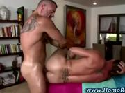 Gay straight guy ass fuck blowjob cumshot